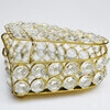 Picture of Designer Jewelry Box in Crystal & Metal