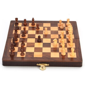 Picture of Wooden Chess Set