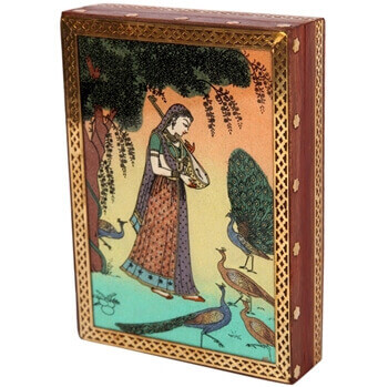 Picture of Aapno rajasthan ragini gujari gemstone jewellery box