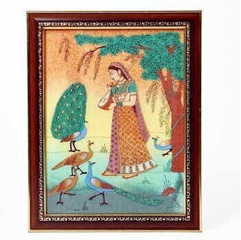 Picture of Wooden raagini painting frame