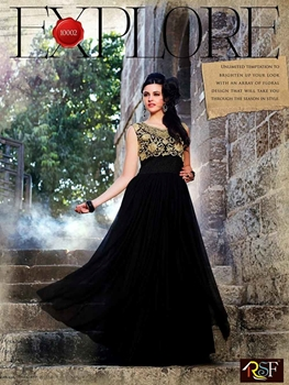 Picture of 10002 Black Wedding Wear Gown