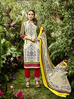 Picture of 7001 Printed Pakistani Style Indian Suit