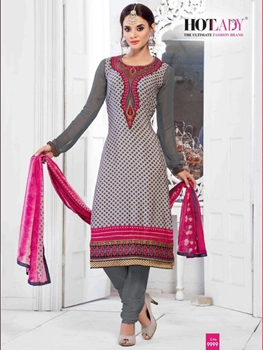 Picture of 9999Gray Exclusive Fancy Designer Straight Suit