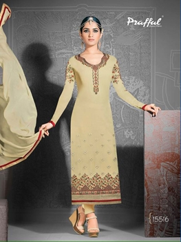 Picture of 15516Burlywood Exclusive Fancy Designer Straight Suit