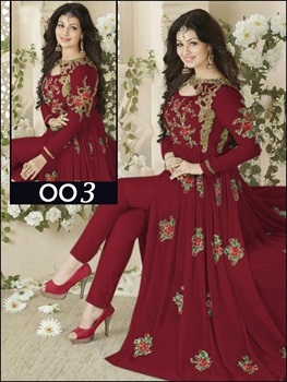 Picture of 003Rosewood Designer Replica Anarkali Suit