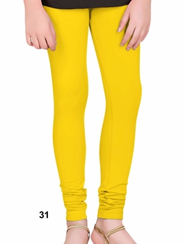 Picture of 31 Yellow 4 Way Lycra Leggings