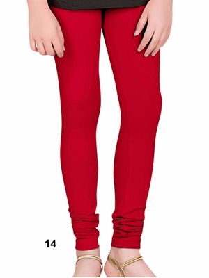Picture of 14 Red 4 Way Cotton Leggings