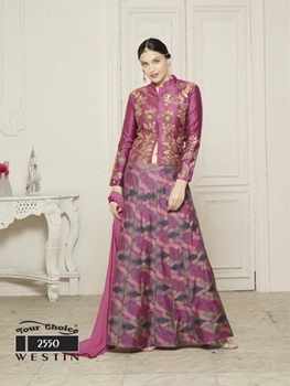 Picture of 2550 Light Thulian Pink Designer Lehenga Choli