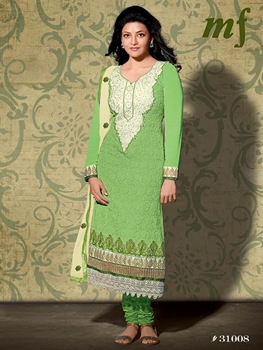 Picture of 31008 Green Designer Straight Suit