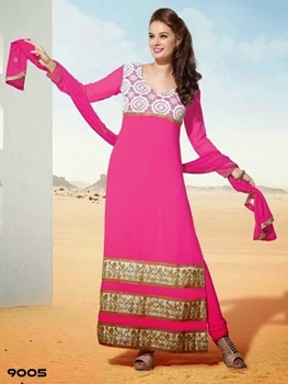 Picture of 9005 Pink Designer Straight Suit