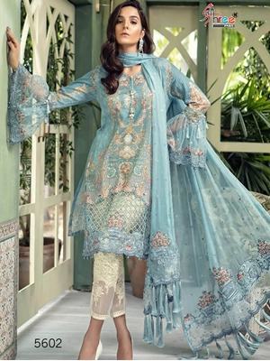 Picture of 5602 Latest Festival Wear Pakistani Style Indian Suit