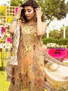 Picture of 5506 Designer Pakistani Style Indian Suit