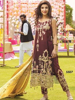 Picture of 5507 Designer Pakistani Style Indian Suit