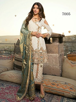 Picture of 7005 Designer Pakistani Style Indian suit