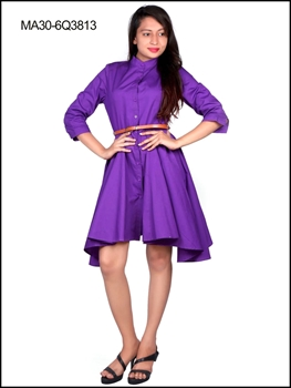 Picture of 3813 Lavender Designer Party Wear Kurti