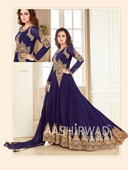Picture of BOD 70005Midnight Blue Latest Designer Anarkali Suit