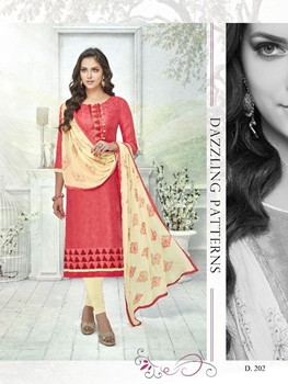 Picture of 202BrinkRed Exclusive Fancy Designer Straight Suit