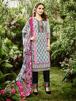 Picture of 7003 Printed Pakistani Style Indian Suit