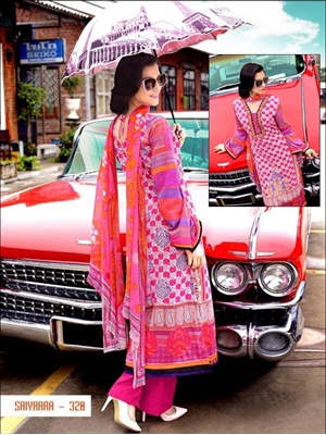 Picture of 320 Designer Pink Straight Suit