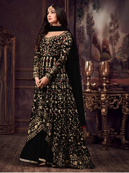 Picture of 5608 F Designer Anarkali Replica Suit