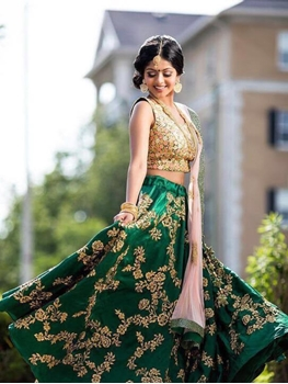 Picture of MC9063 Green Designer Lehenga Choli