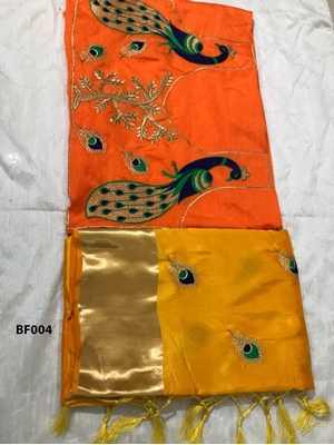 Picture of BF004 Sana Silk Saree with Banglori Cotton Blouse