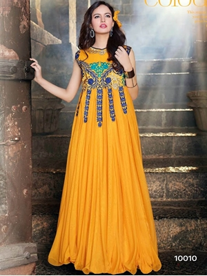 Picture of 10010 Mango Wedding Wear Gown