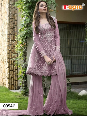 Picture of 0054E Designer Pakistani Style Indian Suit