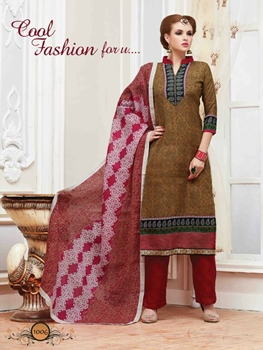 Picture of 1006Brown Latest Fancy Traditional Wear Designer Suit
