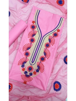 Picture of DM1004 Summer Special Cotton Dress Material Collection