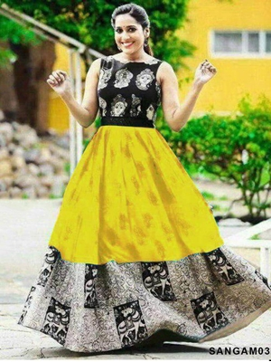 Picture of SANGAM03 Designer Long Gown Collection