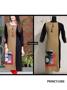 Picture of PRINCY1086 Princy Rayon Kurti Collection