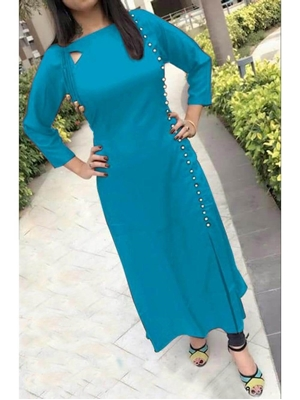 Picture of Tringle03 Rayon Kurti Collection