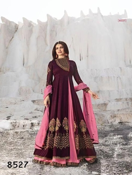 Picture of 8527 Fancy Designer Anarkali Collection