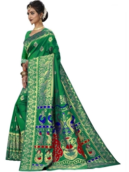 Picture of Green Designer Ethnic Wear Saree