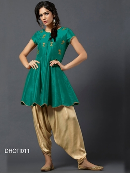 Picture of 011 Designer Dhoti Style Kurti Collection