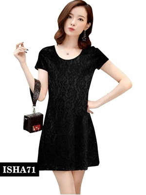 Picture of 71 Black Designer Western Stitched Dresses