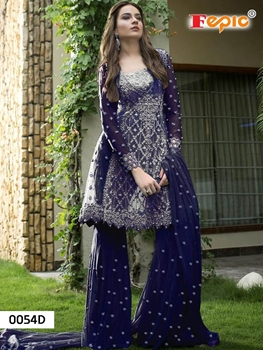 Picture of 0054D Designer Pakistani Style Indian Suit