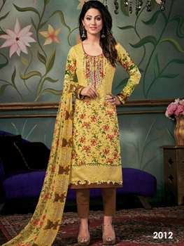 Picture of 2012 Designer Printed Pakistani Style Indian Suit