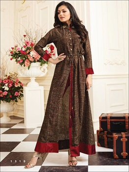 Picture of 1310 Multicolour Designer Kurti