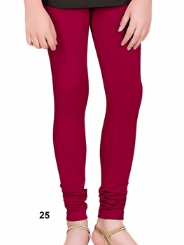 Picture of 25 Bright Maroon 4 Way Lycra Leggings