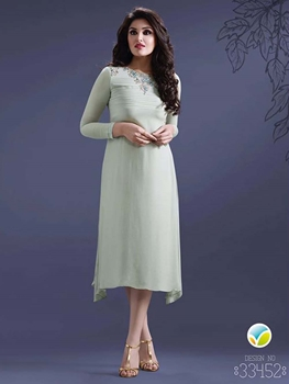 Picture of 33452GhostWhite Exclusive Casual Wear Kurti