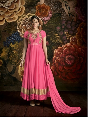 Picture of 170BrinkPink Latest Function Wear Designer Suit