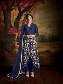 Picture of 169DarkBlue Latest Function Wear Designer Suit