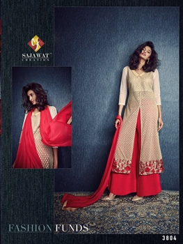 Picture of 3804Ivory Exclusive Fancy Occasional Wear Designer Suit