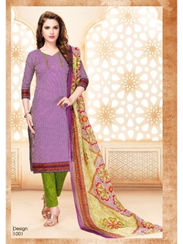Picture of 1001Violet Designer Daily Wear Cotton Salwar Suit