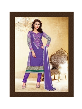 Picture of 51004SlateBlue Anarkali Suit