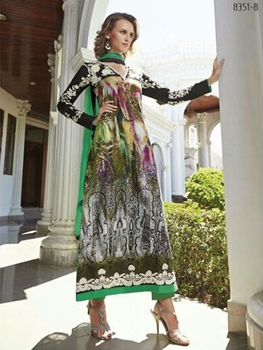 Picture of 8351B Designer Pakistani Style Indian Suit