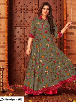 Picture of 102 Exclusive Designer  Anarkali Style Kurti Collection