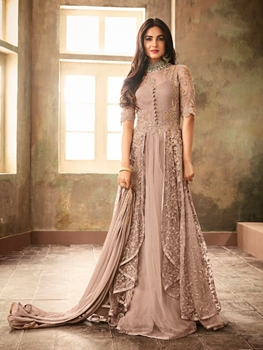 Picture of 6707 B Designer Party Wear Anarkali Suit